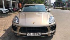 Bán xe Porscher Macan 2016 màu ghi vàng giá 2 tỷ 550 tr tại Hà Nội