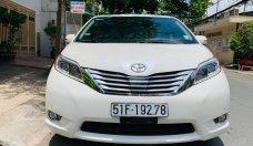 Bán Toyota Sienna Limited năm sản xuất 2013, màu trắng, nhập khẩu nguyên chiếc giá 2 tỷ 390 tr tại Tp.HCM