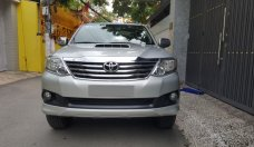 Bán Toyota Fortuner G bạc 2014, máy dầu, xe zin cọp tuyệt đẹp giá 786 triệu tại Tp.HCM