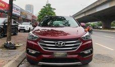 Cần bán xe Hyundai Santa Fe máy dầu 2017, màu đỏ, xe nhập giá 999 triệu tại Hà Nội