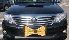 Bán xe Toyota Fortuner G sản xuất năm 2013, màu đen, số sàn giá 730 triệu tại TT - Huế