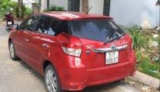 Bán xe Toyota Yaris sản xuất 2017, màu đỏ, xe một đời chủ giá 580 triệu tại Tp.HCM