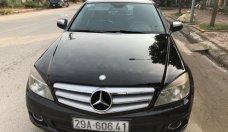 Cần bán gấp Mercedes C200 Avantgarde năm sản xuất 2008, màu đen  giá 420 triệu tại Hà Nội