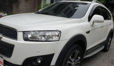 Bán Chevrolet Captiva LTZ máy Ecotec số tự động model 2016, SX T12/ 2015, màu trắng, đẹp mới 90% giá 568 triệu tại Tp.HCM