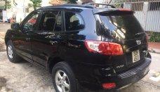 Cần bán Hyundai Santa Fe năm 2007, màu đen, nhập khẩu Hàn Quốc   giá 375 triệu tại Hà Nội