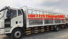 Bán xe tải Faw 7T25 nhập khẩu 2019 Euro 4 thùng dài 9m7 giá 990 triệu tại Bình Dương