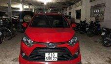 Bán Toyota Wigo 1.2 AT sản xuất 2018, màu đỏ số tự động giá 395 triệu tại Tp.HCM