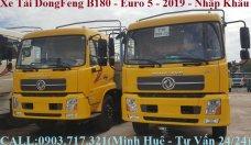 Ưu điểm của xe tải DongFeng B180 mới 2019. Xe tải DongFeng B180 Hoàng Huy 2019 giá 965 triệu tại Đồng Nai