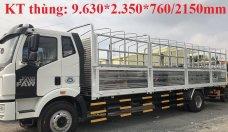 Thông số kỹ thuật xe tải Faw 7T25 thùng dài 9m7. Gía bán xe tải Faw 7T25 thùng dài gần 10m giá 990 triệu tại Long An