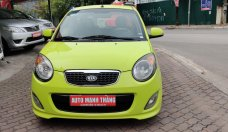 Bán ô tô Kia Morning SLX 1.0 AT đời 2009, màu xanh lục, nhập khẩu giá 255 triệu tại Hà Nội