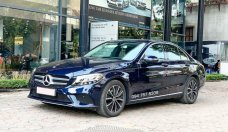 Bán Mercedes C200 2020 màu xanh, chính chủ siêu lướt giá tốt giá 1 tỷ 380 tr tại Hà Nội