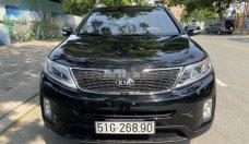 Bán Kia Sorento sản xuất năm 2017, màu đen, giá 705tr giá 705 triệu tại Tp.HCM