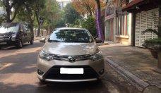 Bán xe Toyota Vios 1.5E đời 2016, màu vàng giá 348 triệu tại Hà Nội