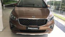 Kia Phú Mỹ Hưng - Cần bán xe Kia Sedona 2.2DAT Luxury năm sản xuất 2019, màu nâu giá 1 tỷ 209 tr tại Tp.HCM