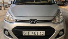 Bán Hyundai Grand i10 1.2 AT đời 2015, màu bạc, mẫu hatchback giá 325 triệu tại Tp.HCM