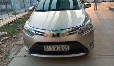 Bán Toyota Vios sản xuất 2014, màu vàng, xe gia đình giá 323 triệu tại Tp.HCM