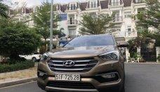 Bán Hyundai Santa Fe đời 2016, màu nâu vàng như mới giá 868 triệu tại Tp.HCM