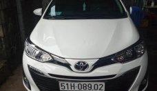 Cần bán lại xe Toyota Vios G AT đời 2019, màu trắng, xe nhập chính chủ, giá chỉ 530 triệu giá 530 triệu tại Tp.HCM