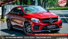 Bán Mercedes GLE 450 4Matic sản xuất năm 2016, màu đỏ giá 3 tỷ 139 tr tại Tp.HCM