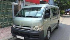 Cần bán lại xe Toyota Hiace sản xuất 2008, màu bạc số sàn  giá 268 triệu tại Tp.HCM