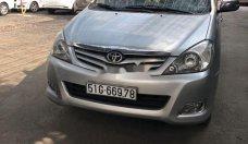Bán xe Toyota Innova G sản xuất năm 2010, màu bạc xe gia đình, giá 375tr giá 375 triệu tại Tp.HCM