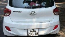 Bán Hyundai Grand i10 MT năm 2016, màu trắng số sàn giá 242 triệu tại Đà Nẵng
