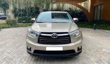 Cần bán Toyota Highlander LE 2.7L đời 2016, màu vàng cát, xe nhập giá 1 tỷ 590 tr tại Hà Nội