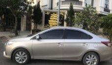 Bán xe Toyota Vios E đời 2015, màu vàng cát, giá 345tr giá 345 triệu tại Hà Nội