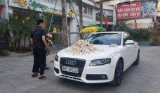 Audi a4 1.8 turbo trắng đẹp chuyên làm xe dâu giá 480 triệu tại Hà Nội