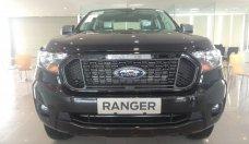 Bán xe Ranger XLS 1 cầu, số tự động, màu đen, giá tốt đời 2021, giao ngay tại Hà Giang, có hỗ trợ trả góp giá 650 triệu tại Hà Nội