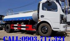 Bán xe bồn phun nước 5 khối hiệu Dongfeng nhập khẩu 2021 giá tốt, giao xe nhanh giá 510 triệu tại Bạc Liêu