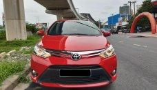 Cần bán Toyota Vios 1.5G năm 2015, màu đỏ giá 450 triệu tại Tp.HCM