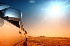 Những điều cần lưu ý khi để ô tô dưới trời nắng