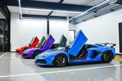 Ngắm dàn siêu xe Lamborghini Aventador SVJ của đại gia Thái Lan