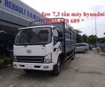 Bán xe FAW xe tải thùng đời 2017, 539tr