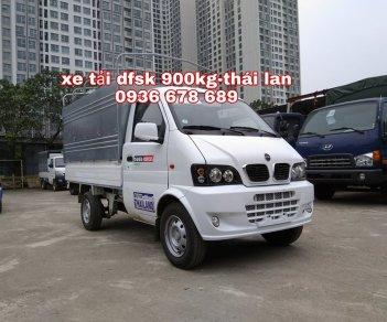 Xe tải DFSK 900kg thùng mui bạt, nhập Thái Lan, giá rẻ nhất toàn quốc
