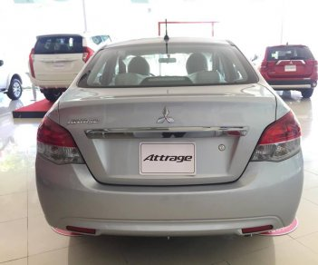 Bán Mitsubishi Attrage năm 2018, màu bạc, nhập khẩu chính hãng, cho góp đến 80%