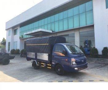 Bán xe Hyundai Porter 1.5T màu xanh, thùng bạt