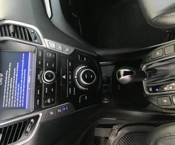 Bán xe Hyundai Santa Fe 2.4AT 4WD 7 chỗ đời 2015, màu đen, giá 945tr