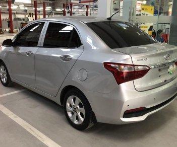 Bán xe Hyundai Grand i10 1.2AT đời 2018, màu bạc, giá chỉ 425 triệu
