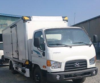 Cần bán xe Hyundai Mighty 110S-6T9 thùng kín đời 2018, màu trắng