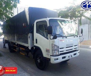 Xe tải ISUZU 8t2 thùng dài 7m thắng hơi giá mềm.