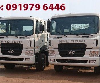 Bán xe Hyundai HD 260-320 cẩu, màu trắng, xe nhập