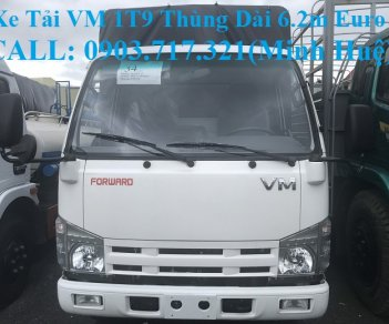Xe tải VM 1t9 thùng dài 6m2 động cơ Isuzu