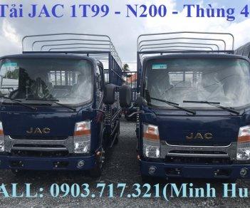Xe tải Jac 1T99 (Euro 4 2019), xe Jac 1T99 đầu vuông máy Isuzu mới 2019