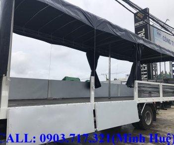 Xe tải Faw thùng dài 9m7 thùng mui bạt, mui kín, thùng chở bia, chở pallet, chở mút xốp