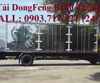 Xe tải DongFeng 7T5 thùng kín. Xe DongFeng B180 thùng kín tải 7T5 giá tốt nhất