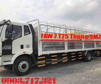 Bán xe tải Faw 7T25 nhập khẩu 2019 Euro 4 thùng dài 9m7