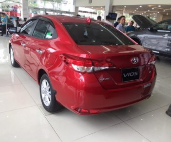 Cần bán xe Toyota Vios 1.5 CVT đời 2019, màu đỏ, 540tr