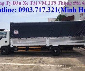 Xe tải Isuzu VM 1T9 - 1900Kg (xe tải NK490SL) thùng dài 6.2m. Gía xe tải Isuzu VM 1T9